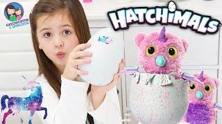 NEU! Glitzer Einhorn Hatchimal 😍 MAGISCHES Owlicorn schlüpft! Geschichten und Spielzeug