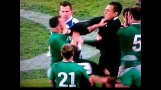 Sonny Bill Williams VS Cian Healy (RUGBY SCUFFLE) thumbnail