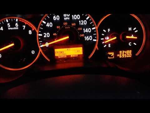2007 Nissan Altima Interior Lightning & Trip Computer Demo