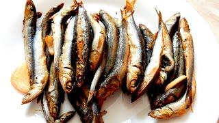 Рыба хамса запечённая  в духовке Рецепт Хамсы в сметанном соусе