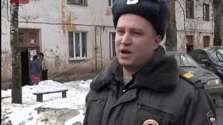 В Великом Новгороде произошел пожар в двухэтажном жилом доме