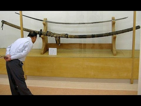 Was this Massive Sword from the 15th Century used by a Giant Samurai?