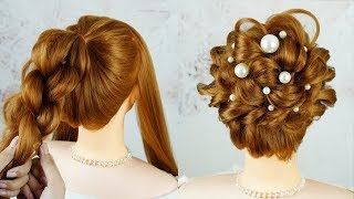 Easy Party Hairstyle 2019 For Girls - Hair Style Girl Easy | Best Hairstyles For Long Hair