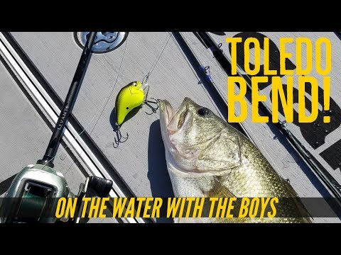 Toledo Bend Bass Fishing Bucket List with the Boys Part 1