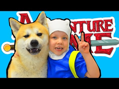 Adventure Time Finn and Jake in real life new