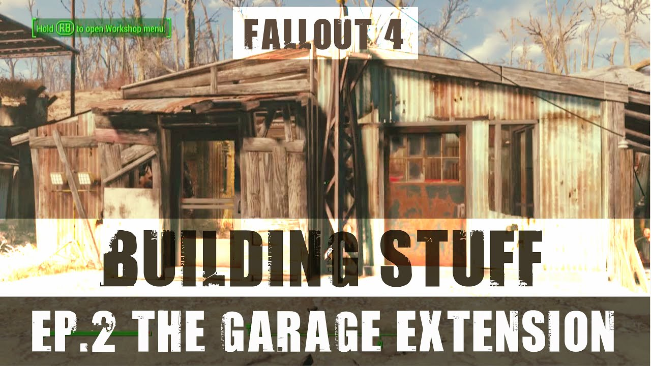 BUILDING STUFF: Episode 2 - The Garage Extension - YouTube