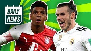 FC Bayern will Arsenal-Talent! Champions League: Dortmund vs. Tottenham! Real Madrid: Bale bleibt?