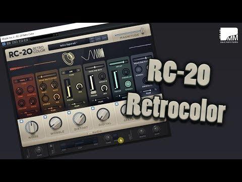 Elektroswing mit dem RC-20 Retrocolor