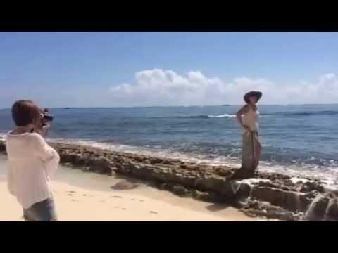 Spring 2015 photo shoot--Grand Cayman beach