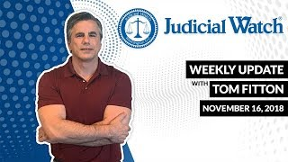 Tom Fitton: Court Orders Clinton to Answer Email Questions...Voter Fraud in FL?...Awan Bros. Update