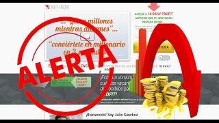 1k Daily Profit es ESTAFA !! - VER REALIDAD - ¡ NO INGRESAR DINERO!