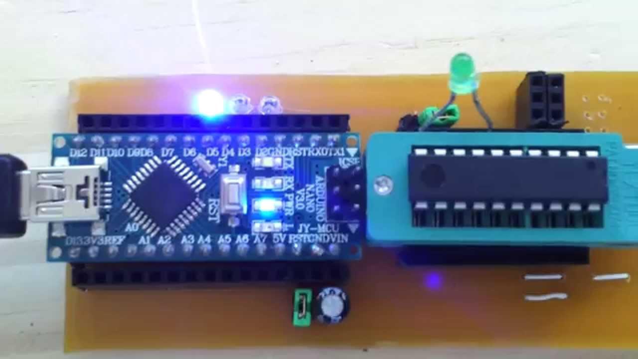 Reading EPROM with Arduino - YouTube