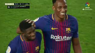 Ousmane dembele - the first day he ...