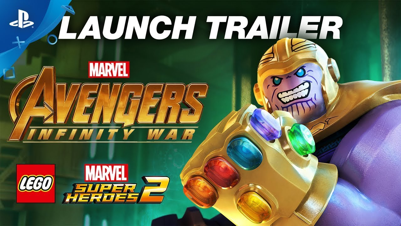 Lego Marvel Super Heroes 2 Infinity War Trailer Ps4 Youtube