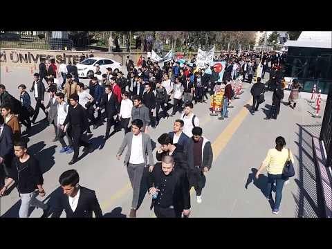 Liseli Bozkurtlar Başbuğuna 10 bin kişi yürüdü.