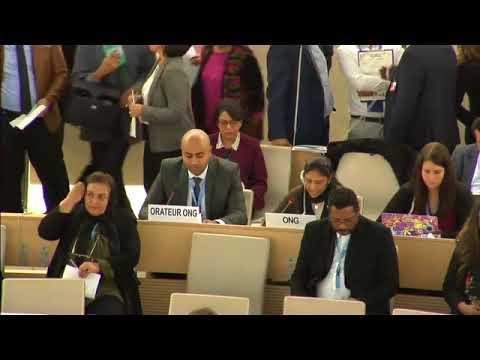 UN Live United Nations Web TV   Human Rights Council   Item4 General Debate Cont'd   18th Meeting, 3