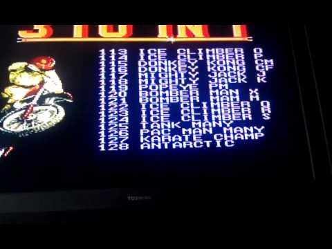 370 in 1 NES cart