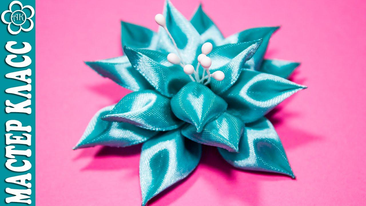 Канзаши новые идеи мастер класс цветки