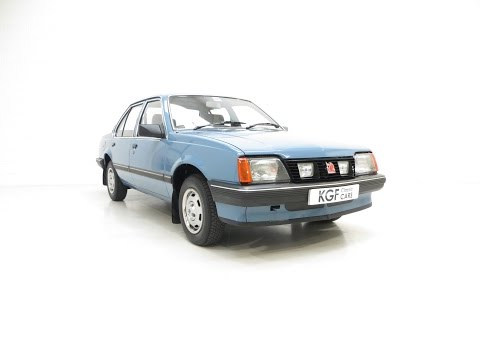 An Award Winning Vauxhall Cavalier Mk2 L 1600S with Just 25,619 Miles - SOLD!