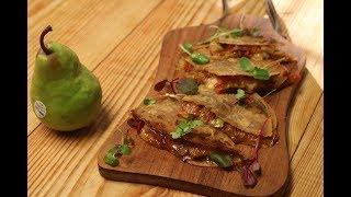 Pear and Onion Quesadilla | Pear Pairings | Sanjeev Kapoor Khazana