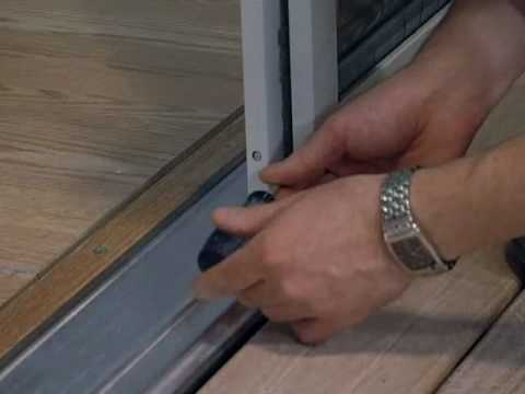 Installing A Screen On A French Door Youtube