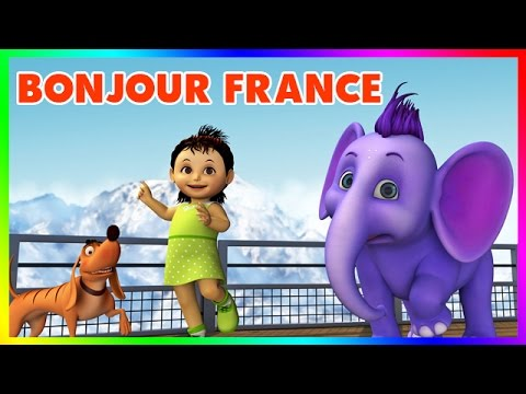 Short Stories For Kids | Learn About France