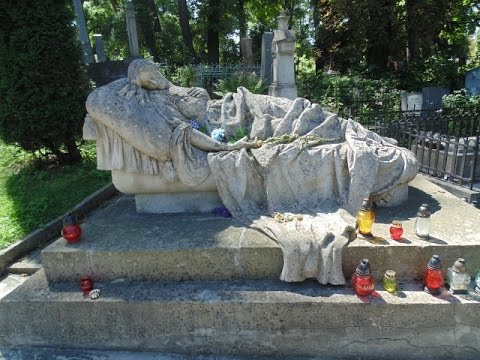 Ukraine   Lychakiv cemetery in  Lviv   1789