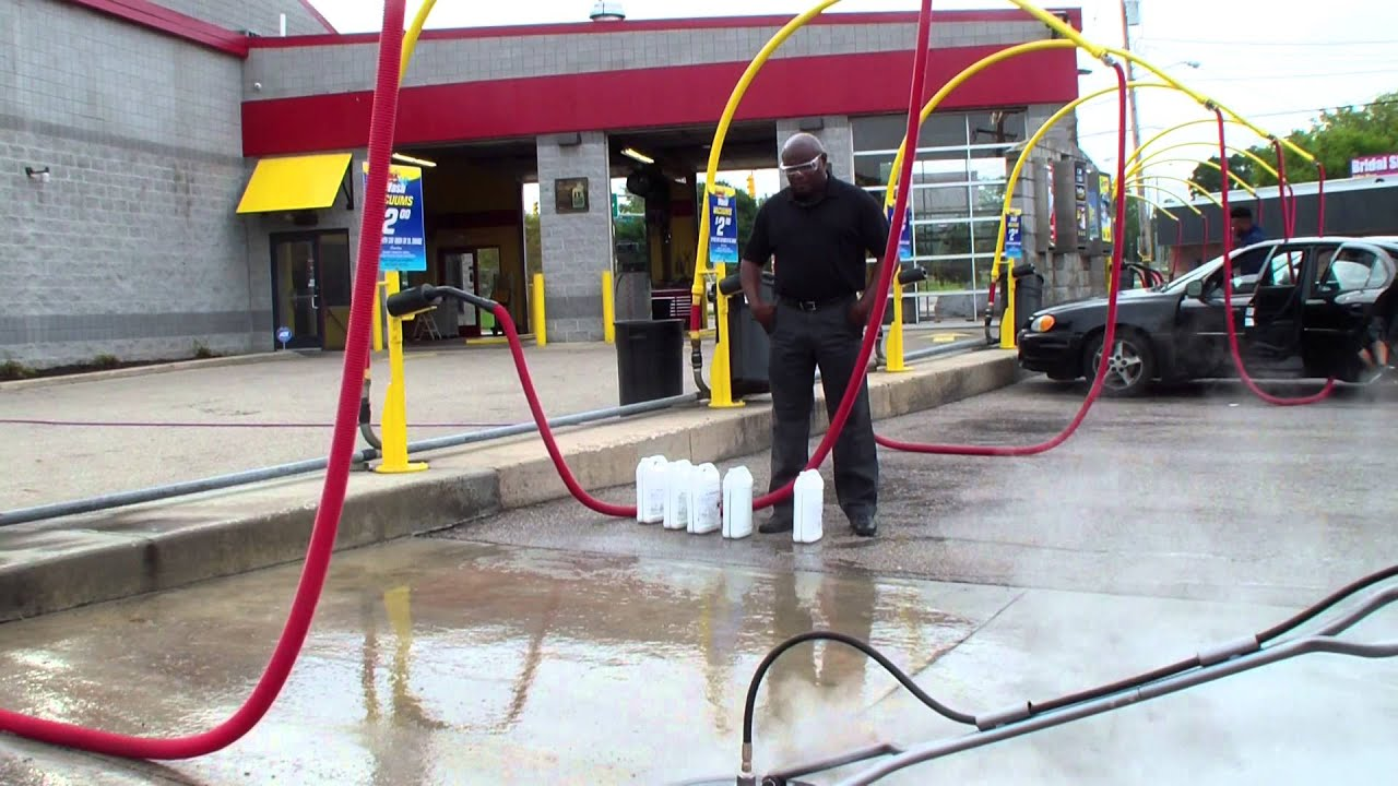 Pressure cleaning degreasing concrete around a car wash hydro pressure cleaning degreasing concrete around a car wash hydro chem systems solutioingenieria Images