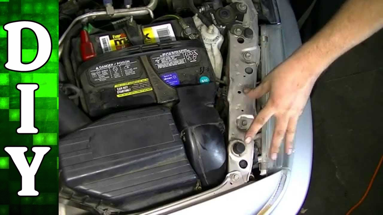 How To Replace High And Low Beam Head Light Bulbs Honda