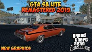 KEREN BANGAT!! GTA SA LITE MOD REMASTERED 2019   Grafiknya Makin HD   Support All OS Android