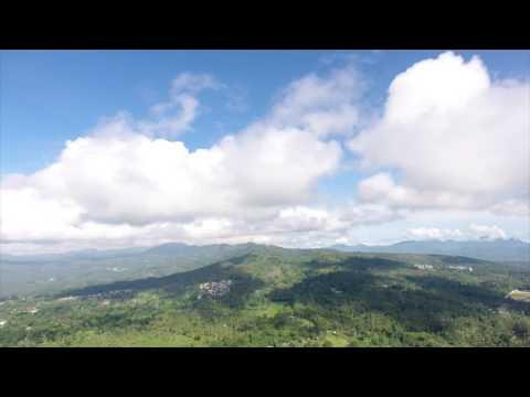 Birds Eye view over Pagadian City