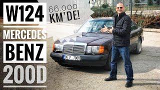 Gambar cover 66.000km'deki Mercedes 200D - W124 Bakım, Yıkama ve Test