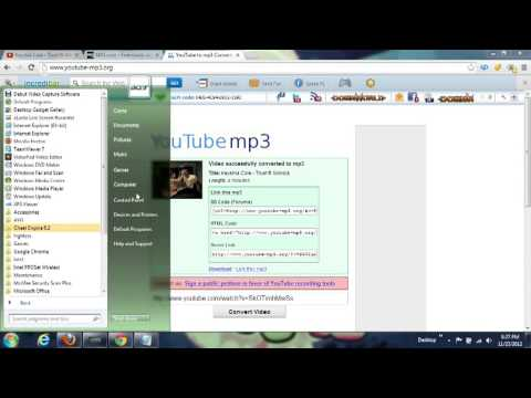 How to download songs to your computer and mp3 player