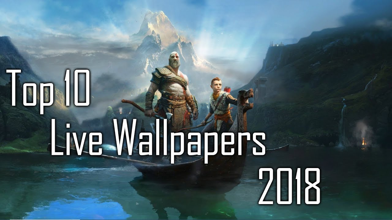 Top 10 Live Wallpapers May 2018