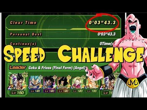 Speed Challenge Transforming Majin Buu Dokkan Event | DBZ Dokkan Battle Global
