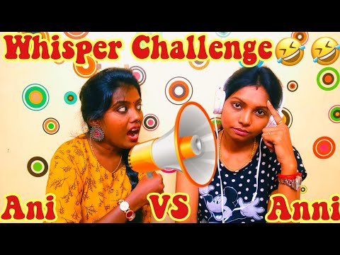 WHISPER CHALLENGE | FUNNIEST WHISPER COMPETITION [ Tamil ]
