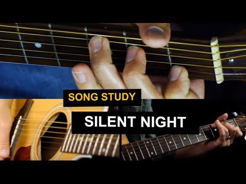 Silent Night Guitar Lesson - Chord Melody Christmas Songs