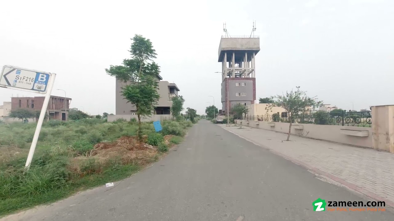 10 MARLA RESIDENTIAL PLOT FOR SALE IN BLOCK D  DHA 9 TOWN LAHORE