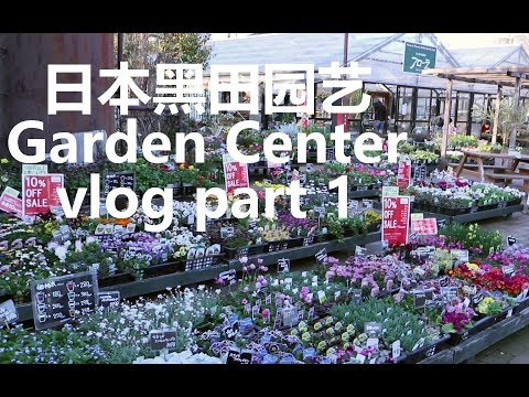【Emily's VLOG】日本东京超人气黑田园艺花园中心探店之旅 Part1