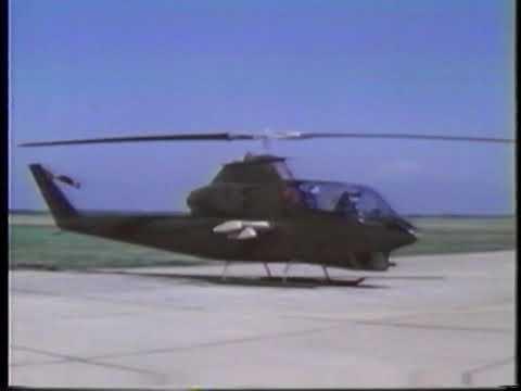 Flying The AH-1G Cobra Gunship