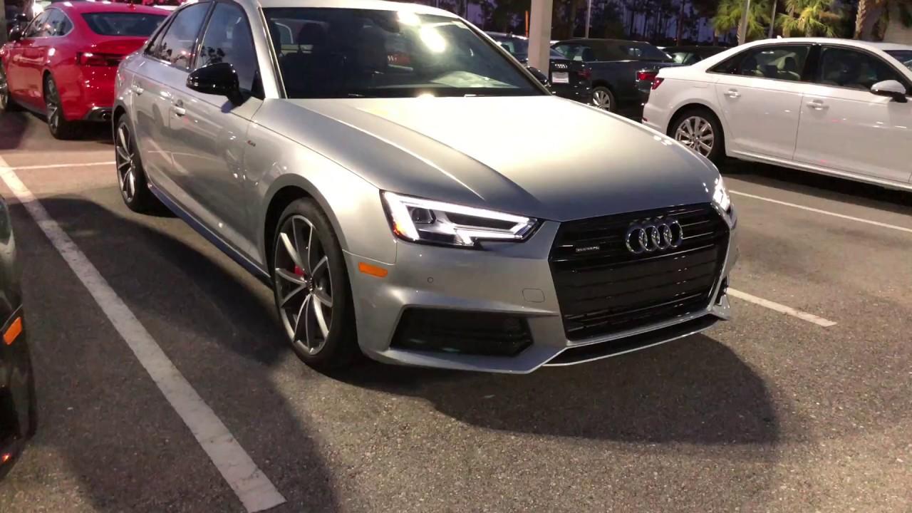 2018 Audi A4 Black Optic Package Youtube