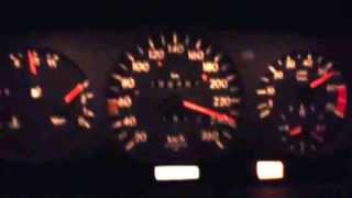 top speed mercedes w124 e420 v8 100kmh 250kmh