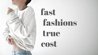 Why YOU Should Quit Fast Fashion... Video