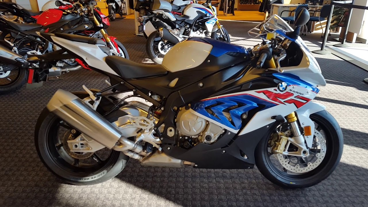 2018 Bmw S1000rr Prem In Motorrad Colors Uncrate Walk Around
