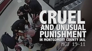 Cruel And Unusual Punishment Montgomery County Jail