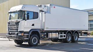 Scania G 480 полноприводный фургон рефрижератор