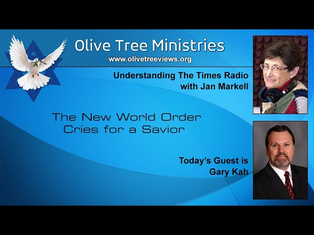 The New World Order Cries for a Savior – Gary Kah