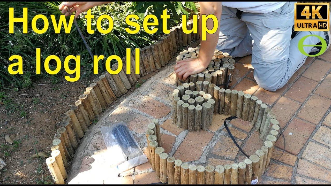 Log Border Edging