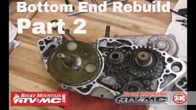 Motorcycle Bottom End Rebuild Part 2 (of 3) Crank