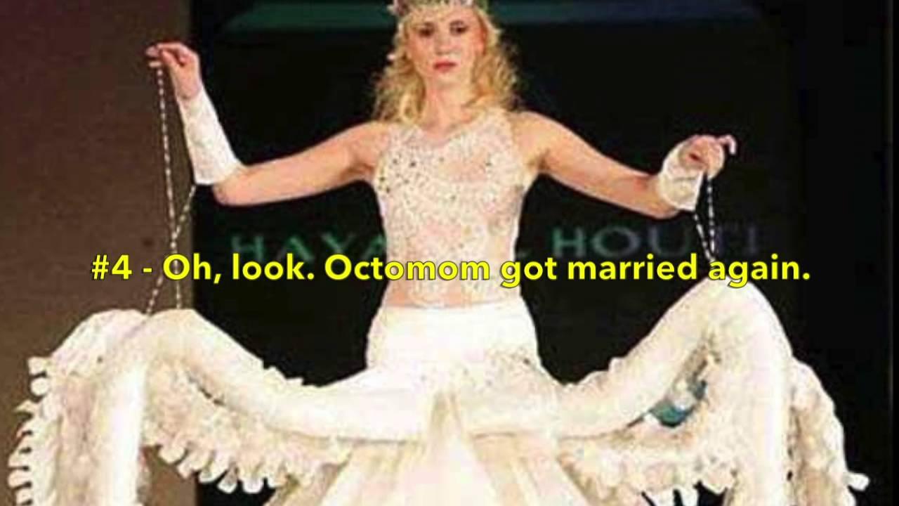 TOP 10 Crazy And Weirdest Wedding Dress